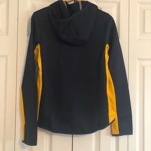 Nike Jackets & Coats - NWT Nike Navy / Yellow Hooded Full ZIP Jacket S